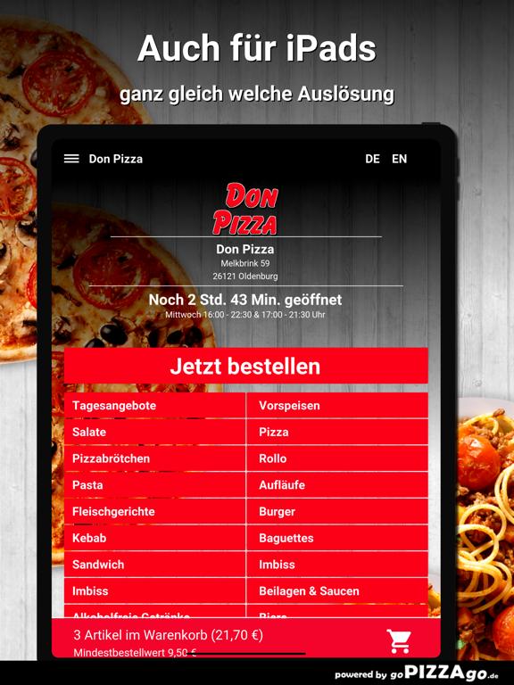 Don Pizza Oldenburg screenshot 7