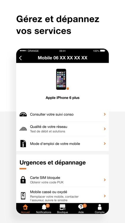 Orange et moi France screenshot-5