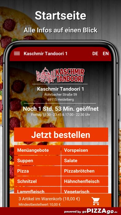 Kaschmir Tandoori 1 Heidelberg screenshot 2
