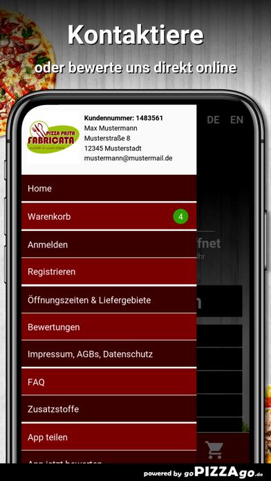Pizza Pasta Fabricata Frankfur screenshot 3
