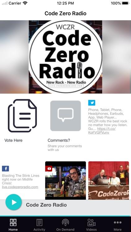 Code Zero Radio