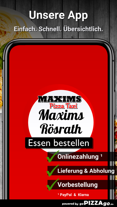 Pizza Taxi Maxims Rösrath screenshot 1