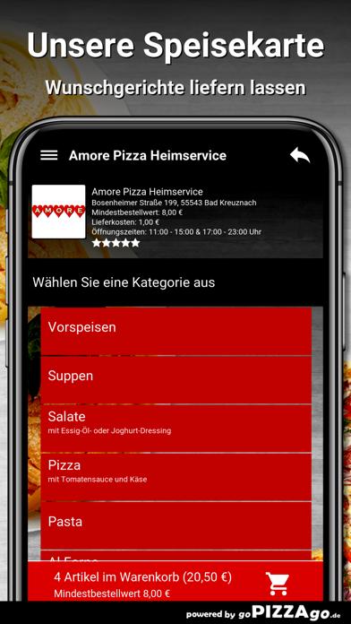 Amore Pizza Bad Kreuznach screenshot 4
