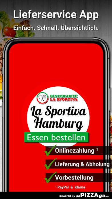Ristorante La Sportiva Hamburg screenshot 1