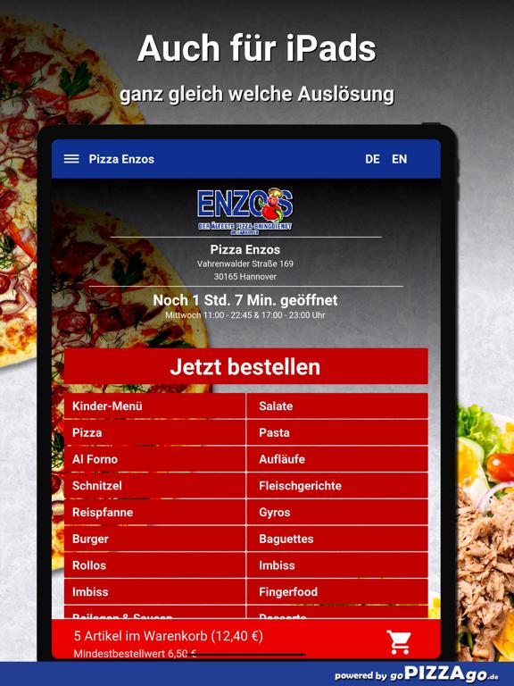 Pizza Enzos Hannover screenshot 7