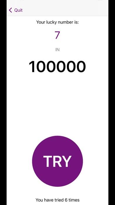 Screenshot of Feel The Odds App
