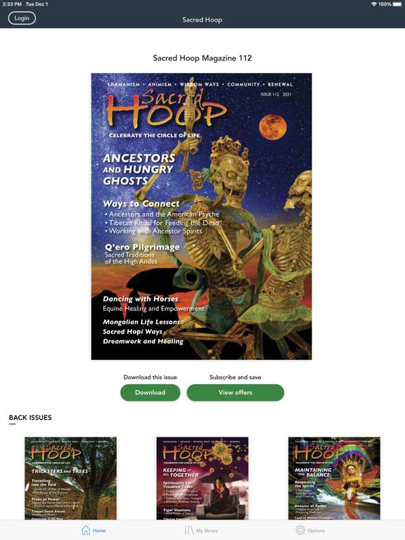 Sacred Hoop Magazineのおすすめ画像1