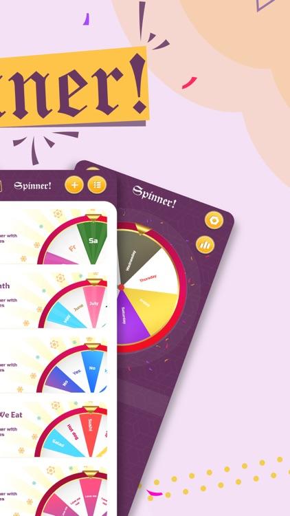 Spinner - Decision maker wheel screenshot-4