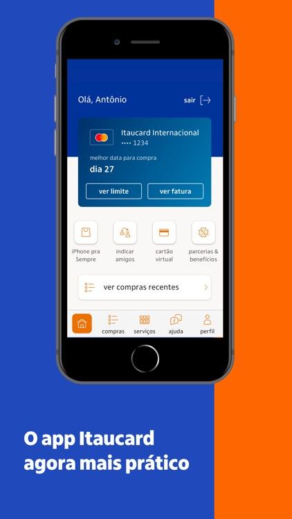 Itaucard cartão de crédito screenshot-0
