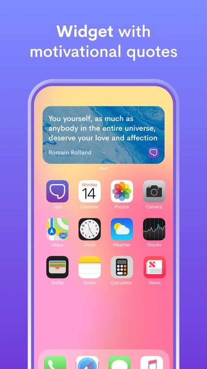 Jour: Daily Self-Care Journal screenshot-6