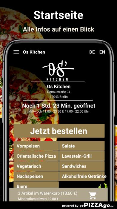 Os Kitchen Berlin screenshot 2