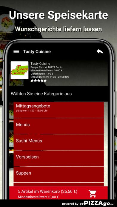 Tasty Cuisine Berlin screenshot 4