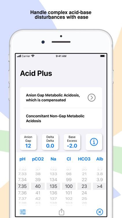 Acid Plus - The ABG Calculator screenshot-5