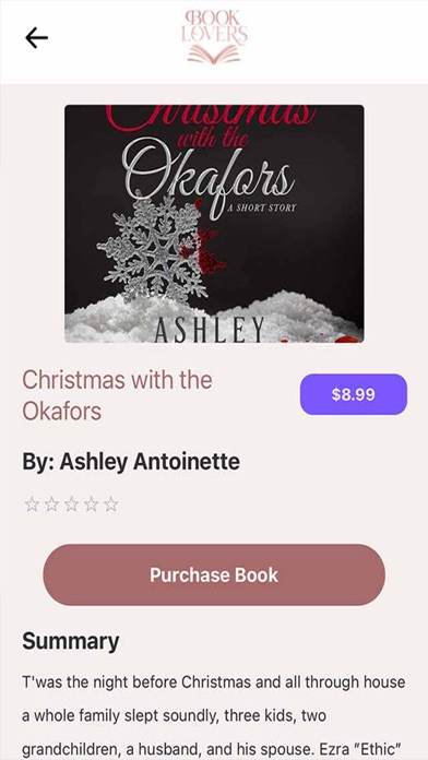 Book Lovers App screenshot 3