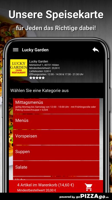 Lucky Garden Hilden screenshot 4