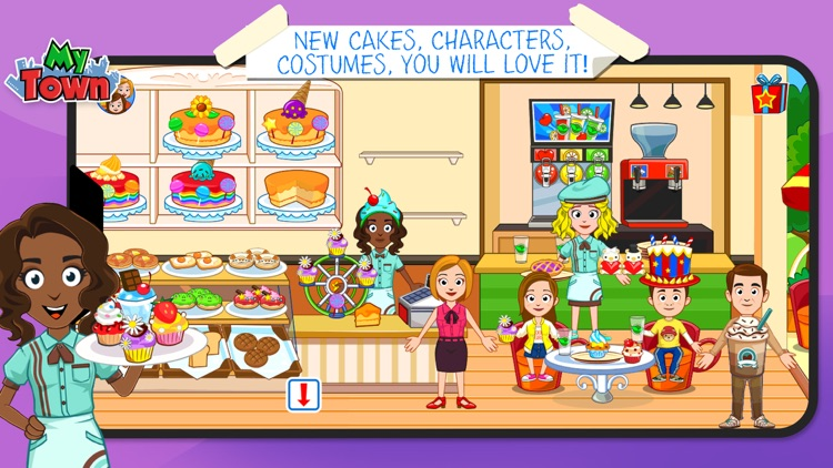 My Town : Sweet Bakery Empire