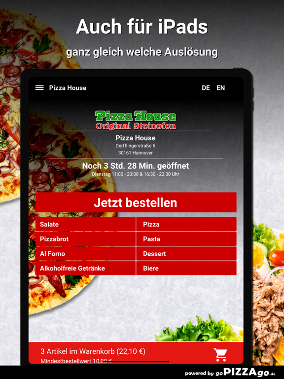 Pizza House Hannover screenshot 7