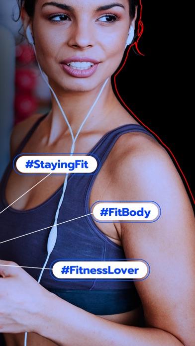 Fitness Hashtags App 2