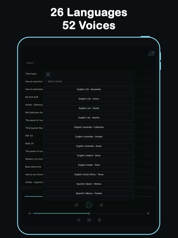 Listen - Text To Speech screenshot 14