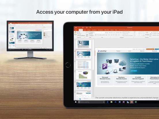 Splashtop Personal iPad app afbeelding 1