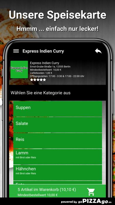 Express Indien Curry Berlin screenshot 4