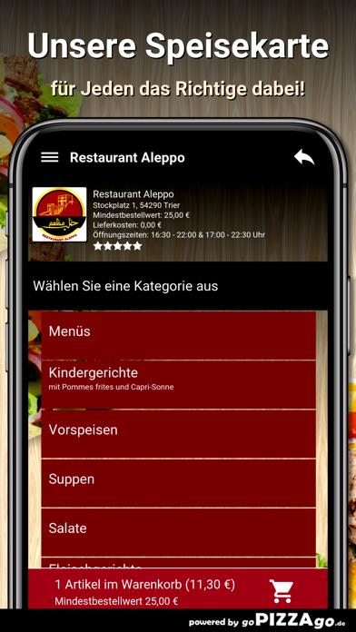 Restaurant Aleppo Trier screenshot 4