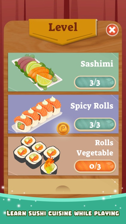 Sushi Words Connect