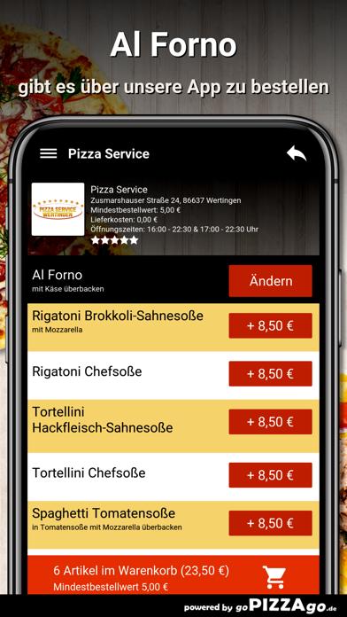 Pizza Service Wertingen screenshot 6