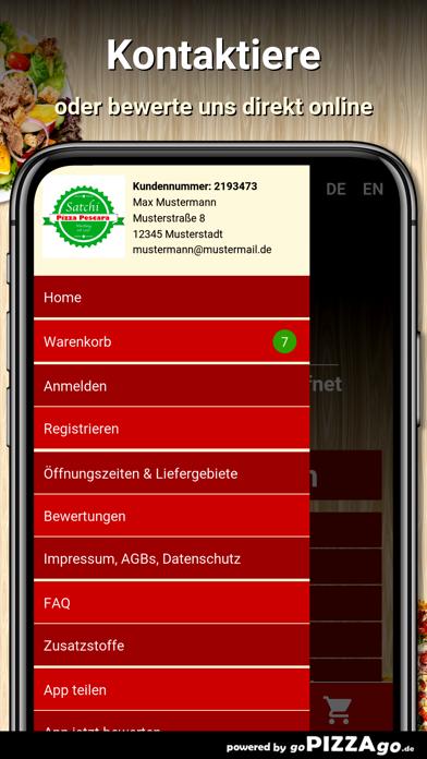 Satchi Pizza Pescara Würzburg screenshot 3