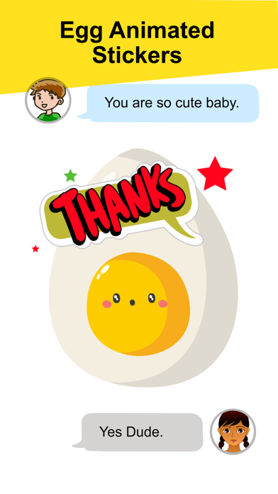 Animated Egg Friends