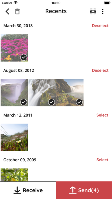 Скриншот №1 к File Transfer App