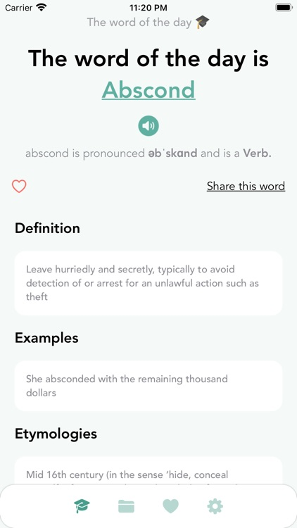 Word of the day - Daily Genius