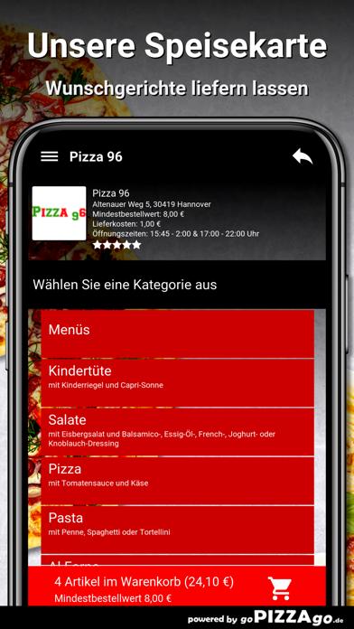 Pizza-96 Hannover screenshot 3