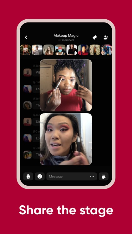 Airtime | A live social space screenshot-3