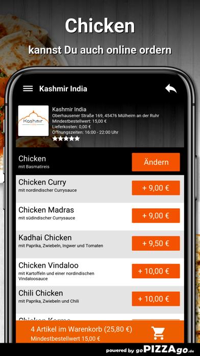 Kashmir India Mülheim screenshot 5