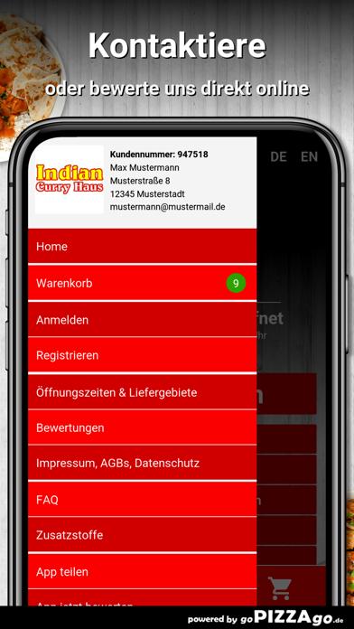 Indian Curry Haus Wiesbaden screenshot 3