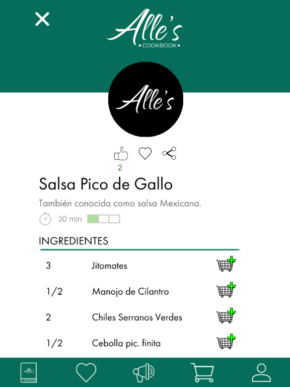 Recetario - Alle's Cookbook screenshot 11