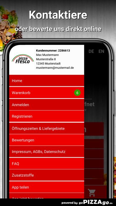 Pizza Fresco Kassel screenshot 3