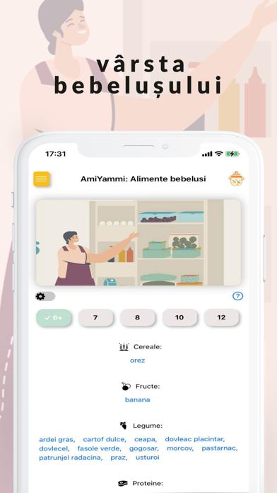 AmiYammi: Alimente bebelusi screenshot 5