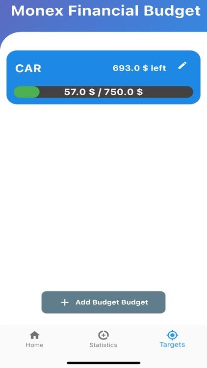 Monex - Money Budget Statistic screenshot-3