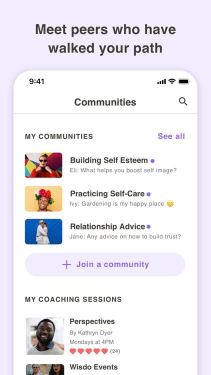 Wisdo - Someone to Talk To screenshot-3