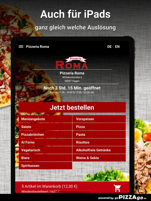 Pizzeria Roma Hagen screenshot 7