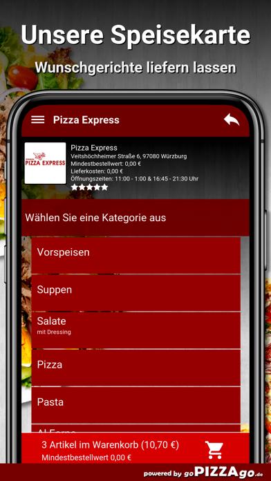 Pizza-Express Würzburg screenshot 6