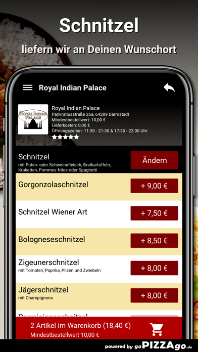 Royal Indian Palace Darmstadt screenshot 6