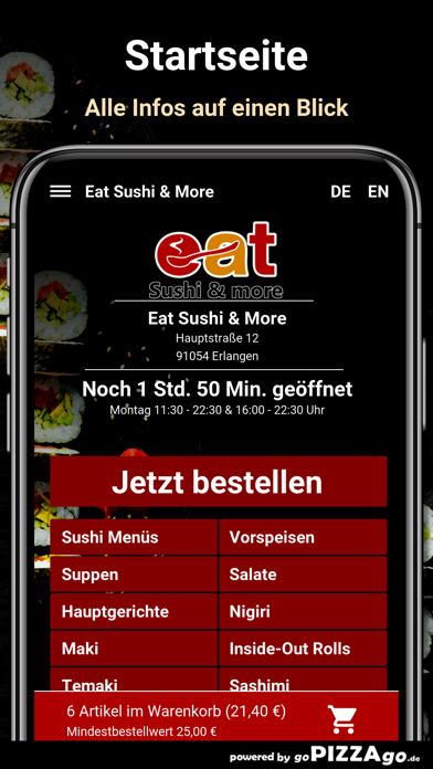 Eat Sushi & More Erlangen screenshot 2