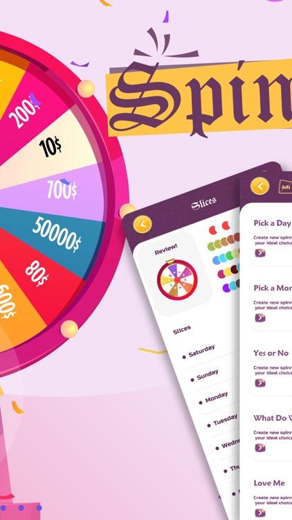 Spinner - Decision maker wheel screenshot-3
