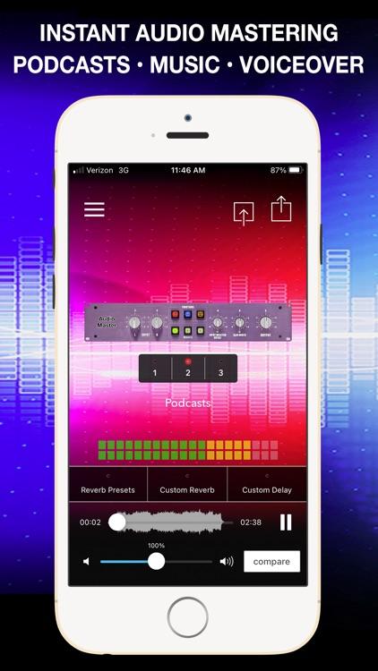AudioMaster Pro: Mastering DAW screenshot-0