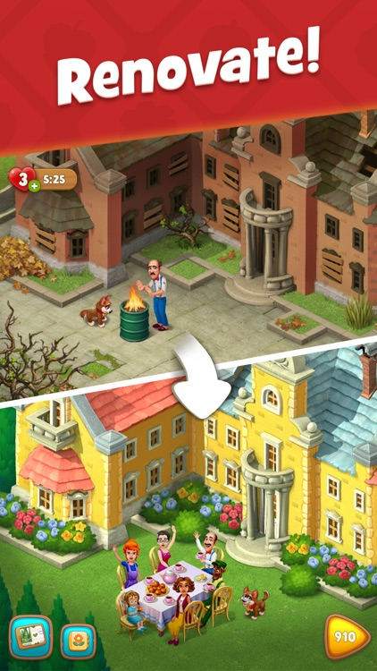 Gardenscapes screenshot-0