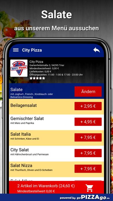 City-Pizza Trier screenshot 5