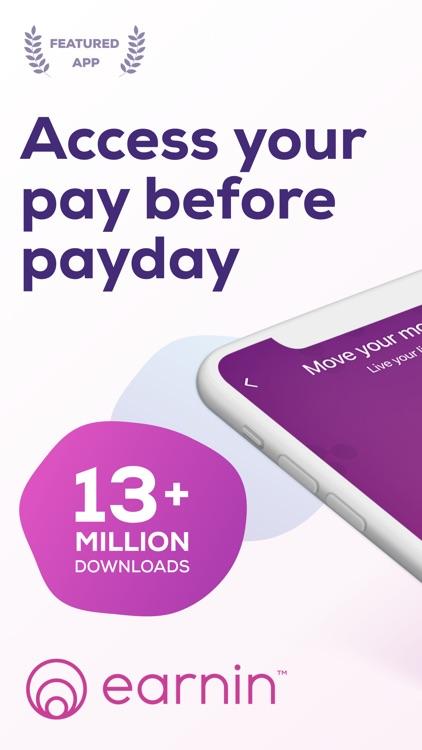 Earnin: Get Cash Before Payday screenshot-0